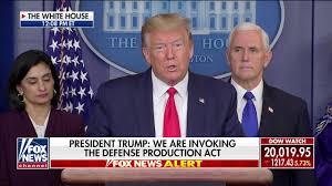 Trump invokes Defense Production Act ...