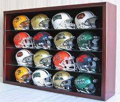 16 mini helmet display case shadow box