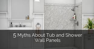 tub and shower wall panels