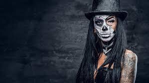 sugar skull makeup mexican