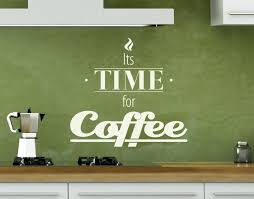 Time For Coffee Wall Decal Quote Contemporary Wall Decals By Style And Apply