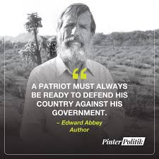 quote of the day edward abbey