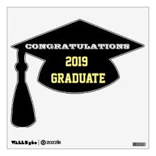 Congrats Wall Decals Stickers Zazzle