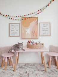 Adding An Art Space In Your Kids Bedroom