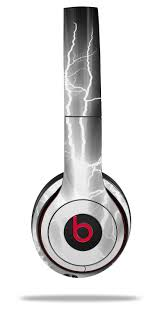 Skin Decal Wrap For Beats Solo 2 And Solo 3 Wireless Headphones Lightning White Beats Not Included By Wraptorskinz Walmart Com Walmart Com