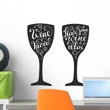 Relax Wine Mood Wine Wall Decal Wallmonkeys Com