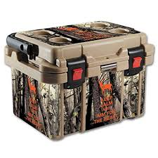 Mightyskins Protective Vinyl Skin Decal For Pelican 20 Qt Cooler Wrap Cover Sticker Skins Deer Hunter See This Great Product Cool Wraps Cooler Deer Hunters