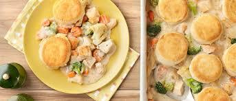 biscuit topped en pot pie recipe