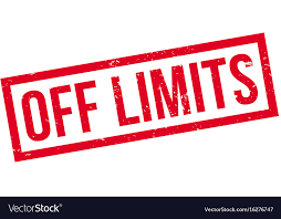 Off limits rubber stamp Royalty Free Vector Image