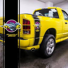 Car Truck Vinyl Rumble Bee Racing Stripe Decal Stickers For Dodge Ram 1500 2500 Ebay