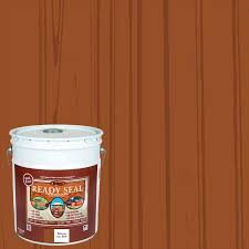 Ready Seal Pre Tinted Pecan Semi Transparent Exterior Stain And Sealer 5 Gallon In The Exterior Stains Department At Lowes Com