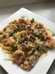 GF cajun seafood pasta for Mardi Gras ...