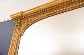 mercury gilded overmantle mirror 1840s