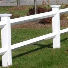 Weatherables 2 Rail Diamond 3 Ft X 8 Ft White Vinyl Fence Panel With 2 Rails Pwhf 2rail6 Diamond The Home Depot