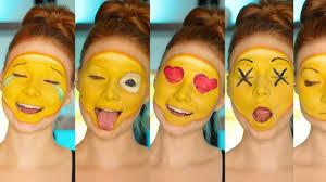 diy emoji costume makeup tutorial cc