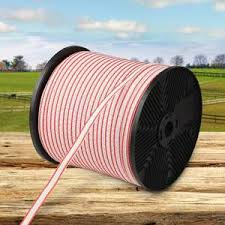 400m Stainless Steel Poly Wire Poly Tape Electric Fence Click To Pet