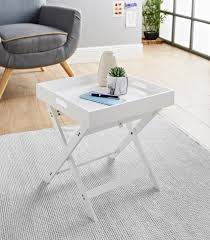 bjorn folding tray table white