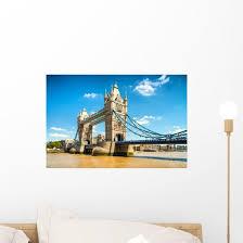 Beautiful Tower Bridge London Wall Decal Wallmonkeys Com