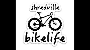 Shredville Sticker Bike Life In 2020 Bike Stickers Bike Life Bike