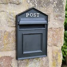 wall mounted post boxes gate mounted