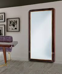 large mirror with wooden frame idfdesign