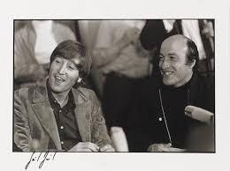 Bonhams : Günter Zint (German, b.1941): John Lennon and Richard Lester,  Hamburg, 1966, printed later,