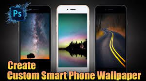 design custom smart phone wallpaper