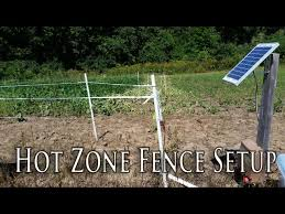 Non Typical Deer Exclosure Fence How To Set Up Your Fence Youtube