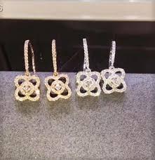 four leaf clover 18k gold jewelry