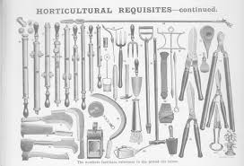 what is it garden tools from 1914