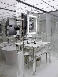 mirrored washstand contemporary