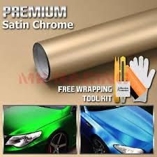 48 X60 Champagne Gold Satin Chrome Matte Vinyl Wrap Sticker Decal Air Release Ebay