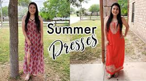 Summer Dresses LookBook 2020 | Style from my closet | Collab with Ivy Howell  - YouTube