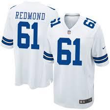Nike Adam Redmond Dallas Cowboys Game White Jersey - Youth