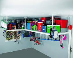 overhead storage ideas for the garage