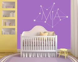 Custom Name On Star Constellation Wall Decal Egraphicstore