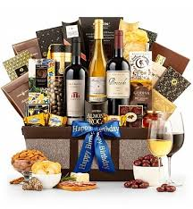 private reserve wine baskets two