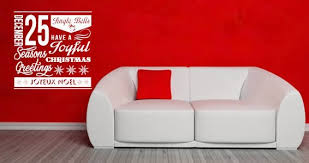 Christmas Spirit Wall Decal Dezign With A Z