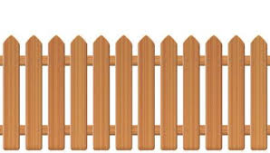 Picket Fence Stock Vector Illustration And Royalty Free Picket Fence Clipart