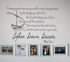Mark Twain Discover Wall Decals Trading Phrases