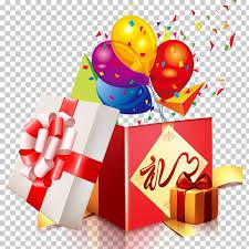 balloon balloon gift bo gift heap