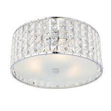 crystal bathroom ceiling light 61252