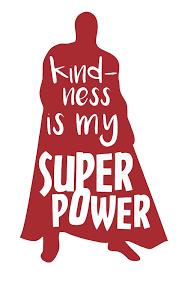 Amazon Com Custom Vinyl Super Hero Decal Superhero Bumper Sticker For Tumblers Laptops Car Windows Kindness Is My Super Power Design Handmade