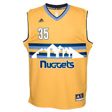 Denver Nuggets Kenneth Faried Replica Player Flex Jersey