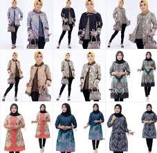 Kamu bisa memadupadankan beberapa jenis kain dengan. Model Atasan Batik Wanita Modern Terbaik 2020 Desain Paling Mewah Model Baju Terbaru