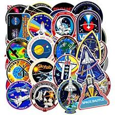 Vinyl Universe Nasa Stickers Pack 45 Pcs Space Explorer Stickers Astronaut Decals For Laptop Ipad Car Luggage Wa Wholesale Stickers Cool Stickers Planet Decals