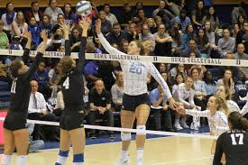 UNC volleyball makes a comeback against Duke for fourth conference win -  The Daily Tar Heel