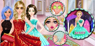 games like cute makeup salon game