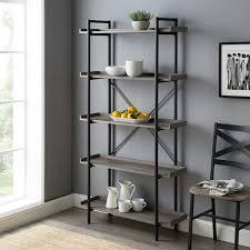 Nursery Bookshelf Grey Wayfair