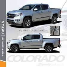 Chevy Colorado Graphics Raton Lower Side Decal Stripes 2015 2016 2017 2018 2019 2020 2021 Premium And Supreme Install Vinyl Speedycardecals Fast Car Decals Auto Decals Auto Stripes Vehicle Specific Graphics